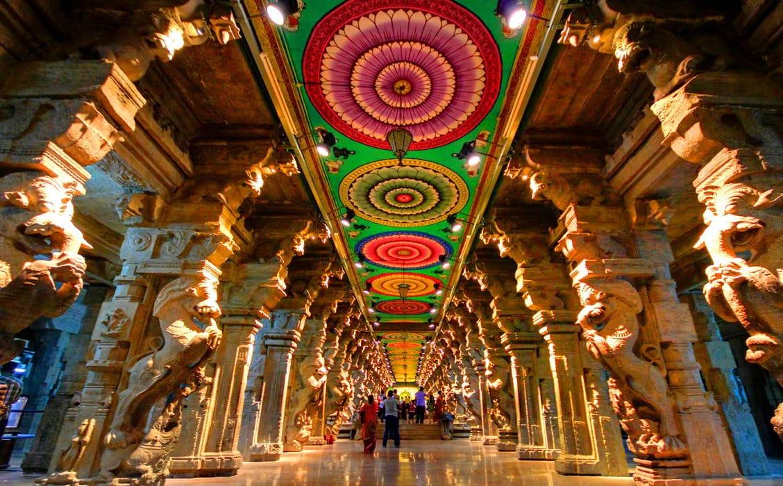 Palazzo di Mysore, viaggio sud India