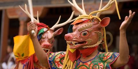 Viaggio per Thimpu Festival in Bhutan
