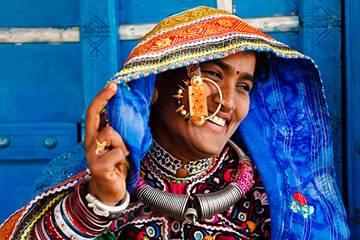 Donna tribale - Viaggio tribale in Gujarat