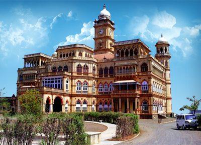 Palazzo di Wankaner - Viaggio tribale in Gujarat