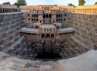 Informazioni il pozzo Chand Baori ad Abhaneri - India