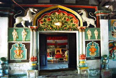 Dakhinpat satra a Majuli - Viaggio tribale in Assam e Meghalaya, India