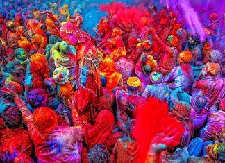 Viaggio per la Festa dei colori Holi