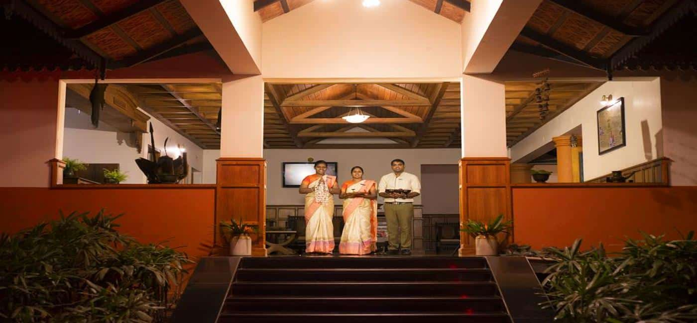 Hotel Greenwoods Resort Periyar / Thekkady, Kerala - India