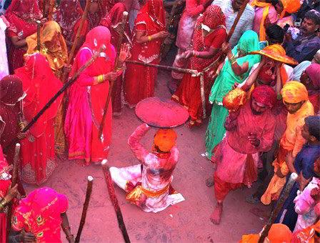 holi a Barsana - Viaggio per la festa dei colori in India