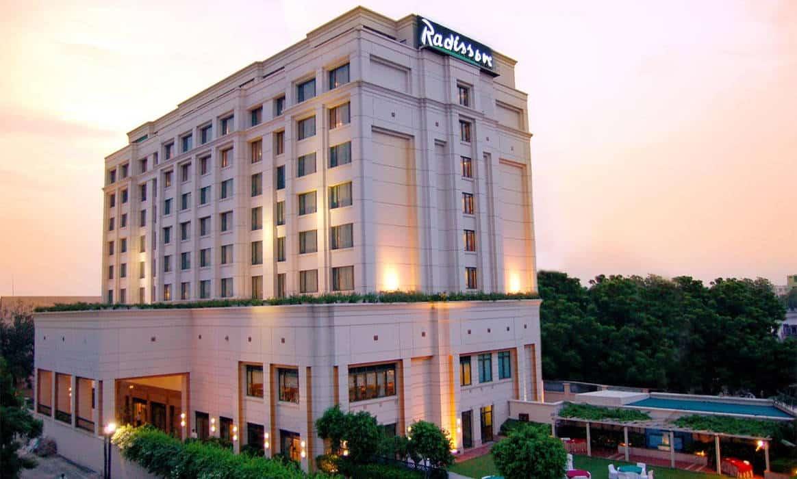 Hotel Radisson a Varanasi - India