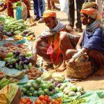Mercato tribale a Kunduli, Orissa - Viaggio per Rath Yatra Puri