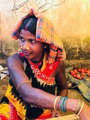 Mercato tribale Nuageao - Viaggio tribale in Orissa