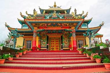 Monastero Bomdila - Viaggio tribale in Assam e Arunachal Pradesh, India