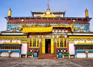 Monastero Ghoom - Sikkim, Viaggio in Sikkim, India