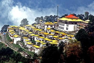 Monastero Tawang - Viaggio tribale in Assam e Arunachal Pradesh, India