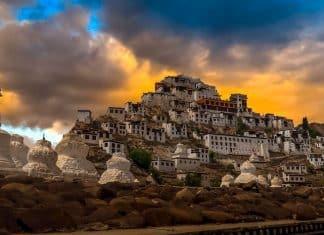 Monastero di Thiksey - Viaggio Leh Ladakh