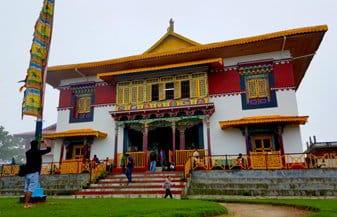 Monstero di Pemayangtse a Pelling - Viaggio in Sikkim, India