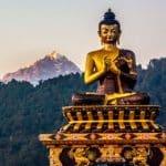 Mythey Buddha a Darjeeling – Viaggio in Sikkim, India