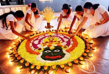 Viaggio Per la festa Onam Kerala