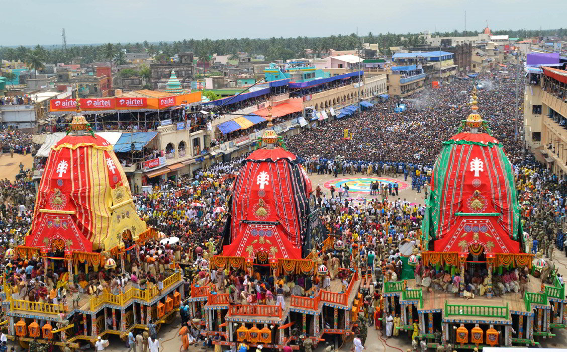 Viaggio per Rath Yatra Puri, Orissa