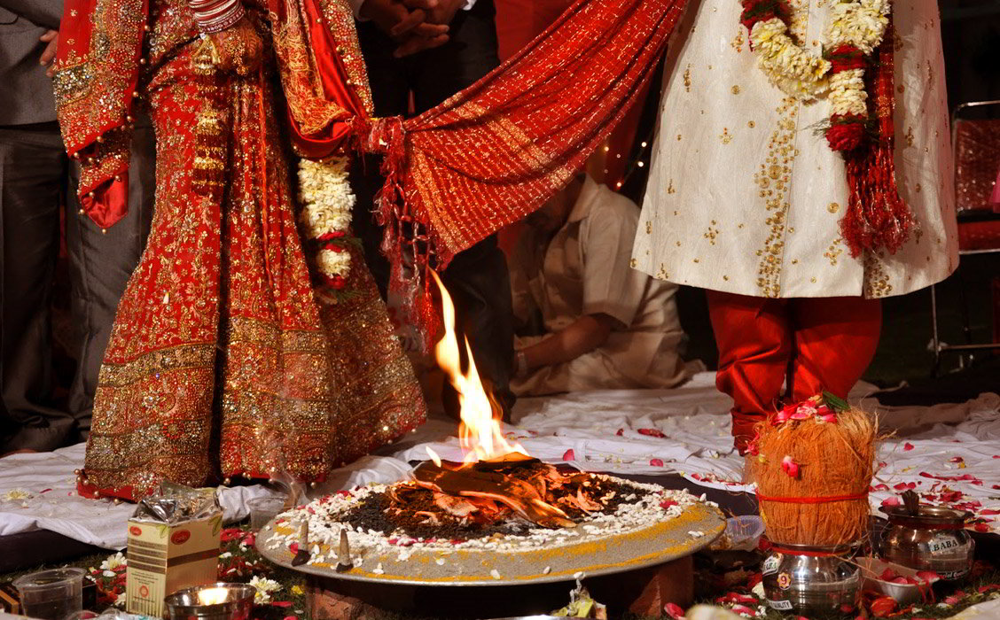 Viaggio di nozze in India : Saat Phere