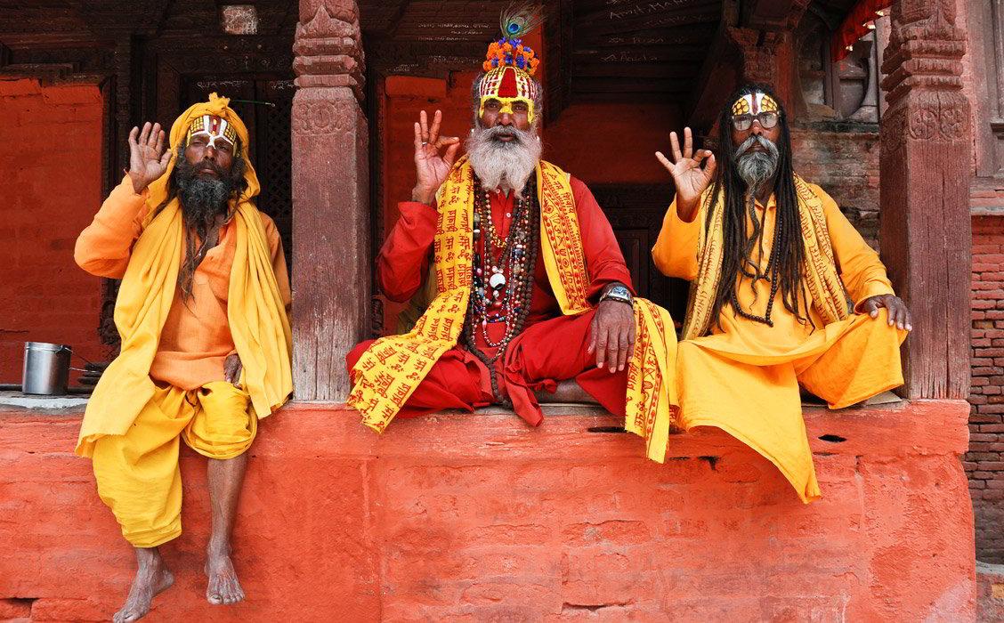 Sadhu a Kathmandu, Viaggio India e Nepal