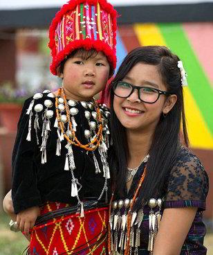 Singpho tribale - Viaggio tribale in Assam e Meghalaya, India