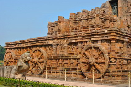 Tempio del sole Konark, Viaggio per Rath Yatra Puri, Orissa