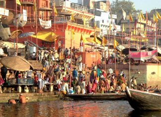 Varanasi, Viaggio Nord India